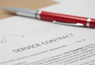 Service & Maintenance Agreements