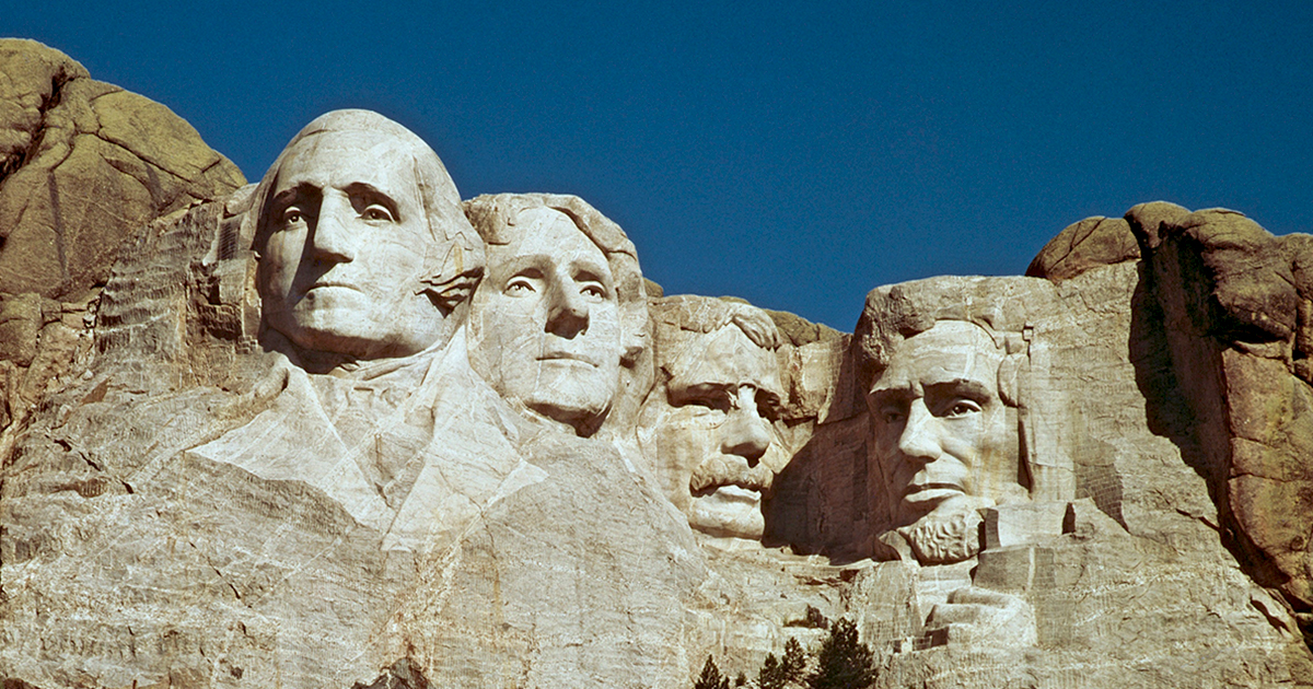 Mount Rushmore today